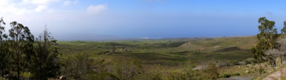 la côte, 1000m plus bas