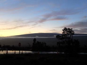 Mauna Loa (4000m également, et un peu plus jeune que le Mauna Kea)