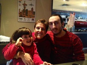 cousin Thomas, Maman et Alix