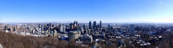 Vue du Centre de Montréal