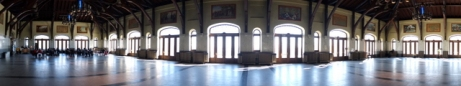 Intérieur du Chalet du Mont Royal