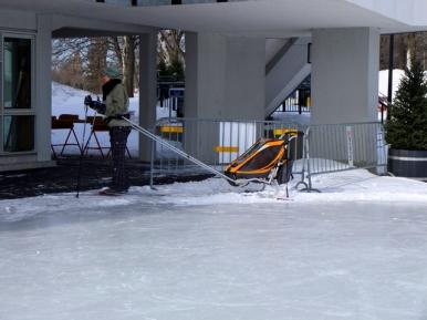 Ski de fond avec bébé